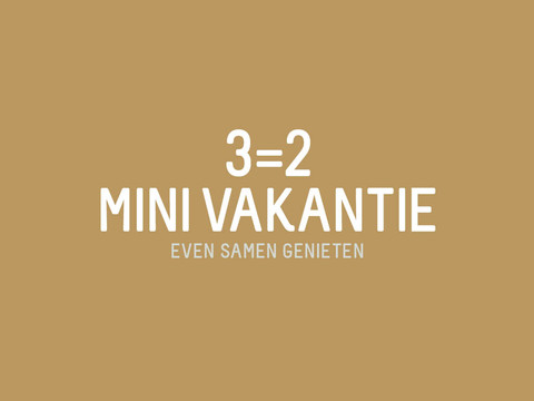 3=2 mini vacation van der valk drachten