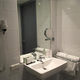 Comfort single room bathroom Hotel Drachten